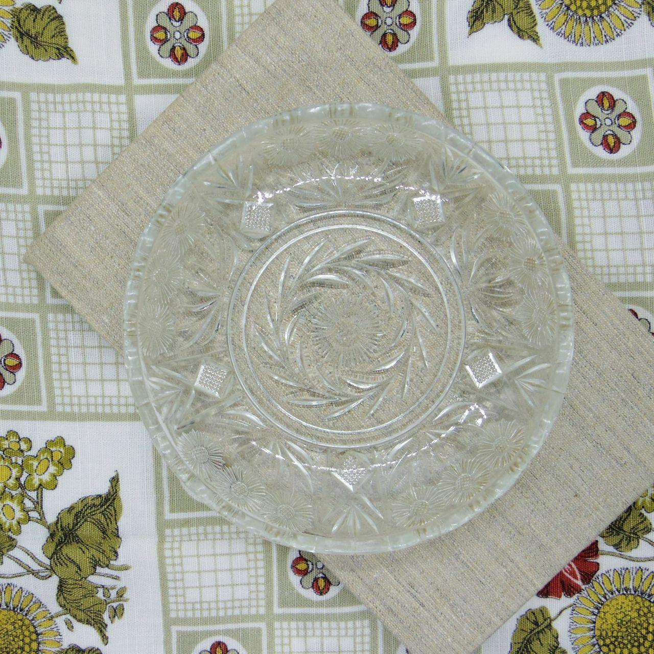 ガラスの小皿④