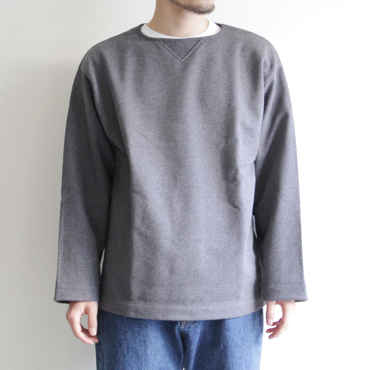 LAMOND 【 unisex 】vertical line pull over