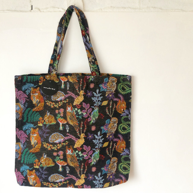 """Nathalie Lete Tote """"Forest"""" ナタリーレテ トートバッグ"""