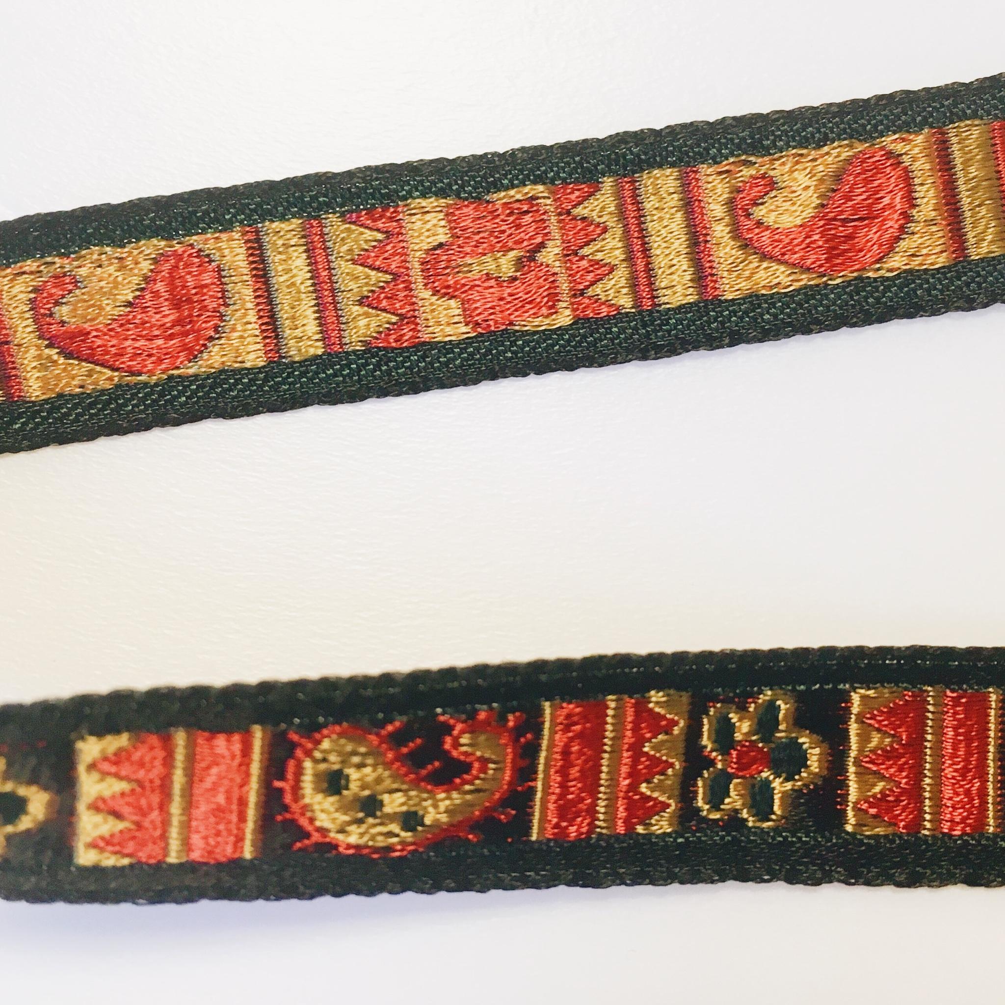 ≪オリジナル≫ペイズリー刺繍リボンチョーカー