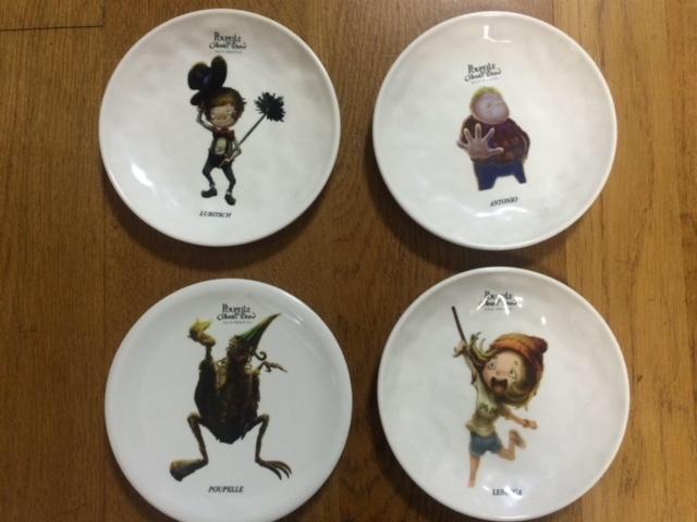 プペルお皿(4種)