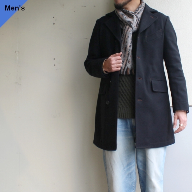 Orgueil チェスターフィールドコート Chesterfield Coat OR-4023E ブラック