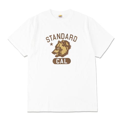 STANDARD CALIFORNIA #SD Cal Bear College Logo T White