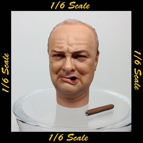 【01602】 1/6 DID チャーチル タバコ ヘッド