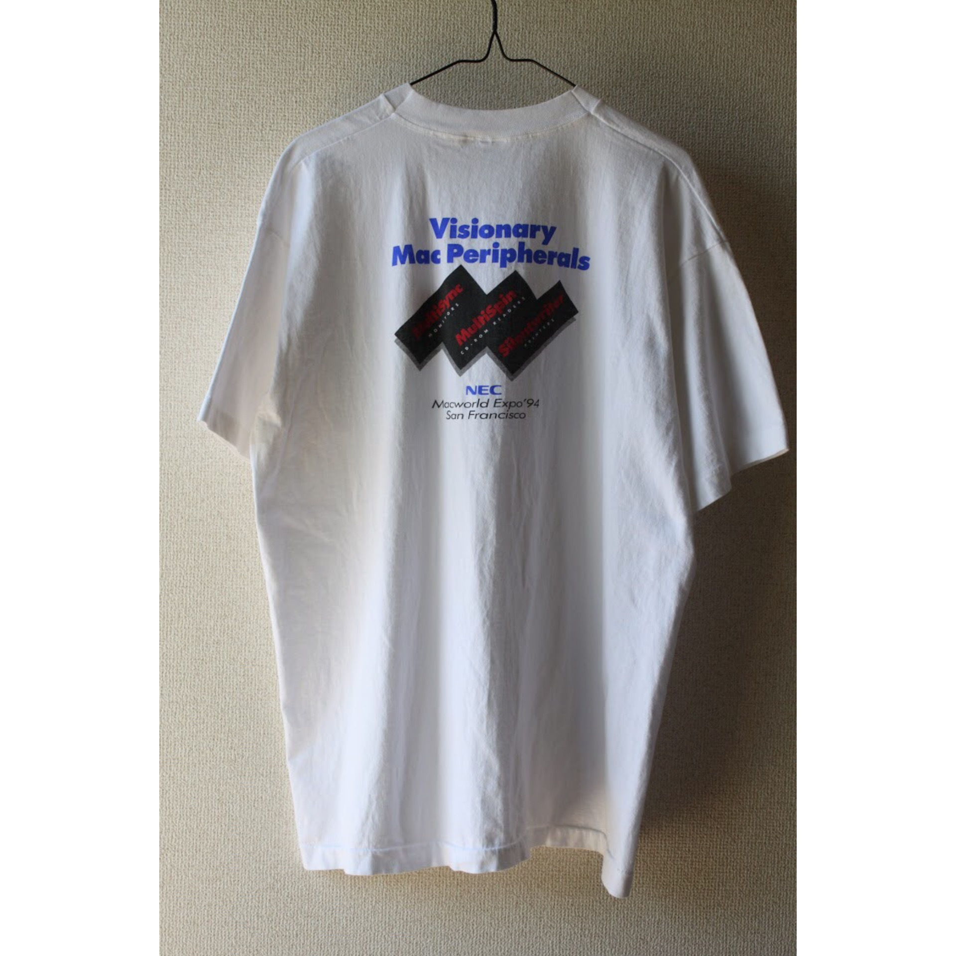 90s Macworld expo t shirt
