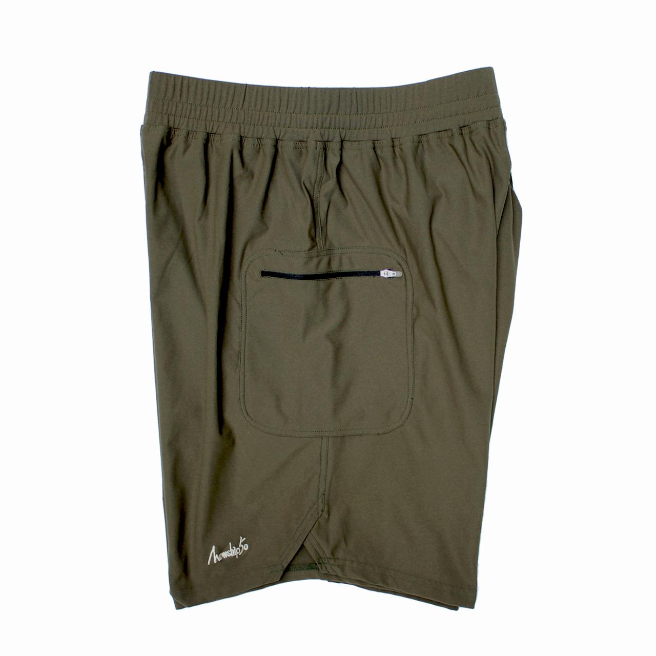 LOGO street shorts <Khaki×Khaki>  - 画像3