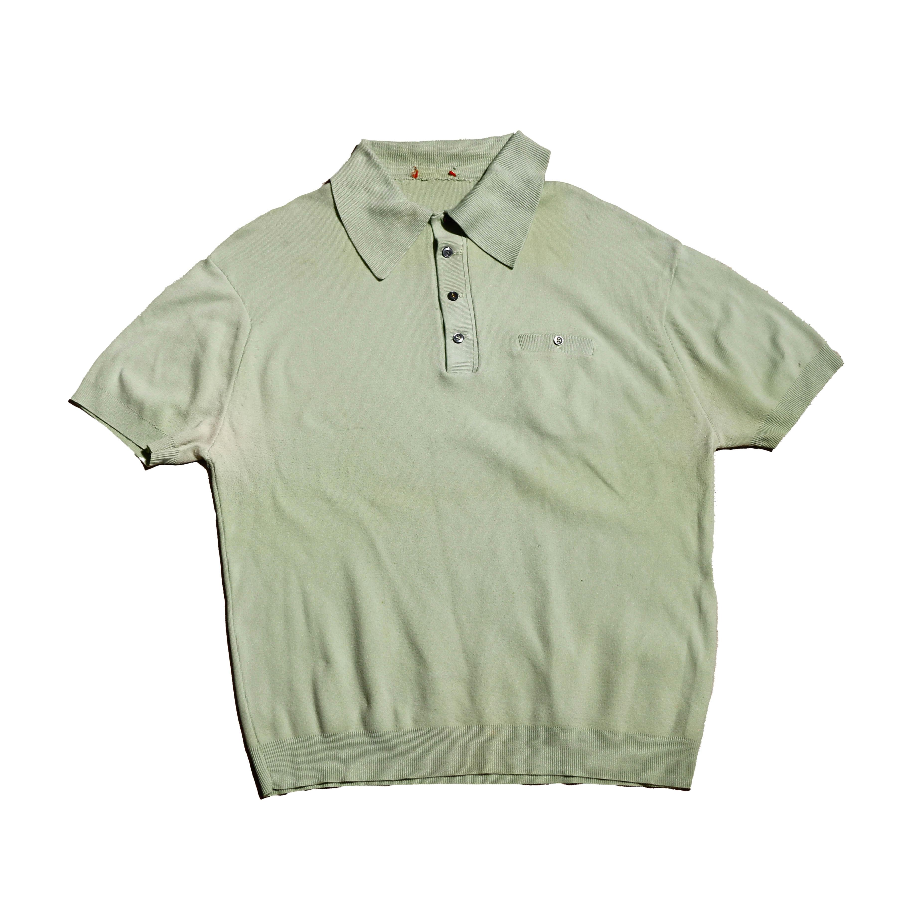 70s PollyGreenPoloShirts