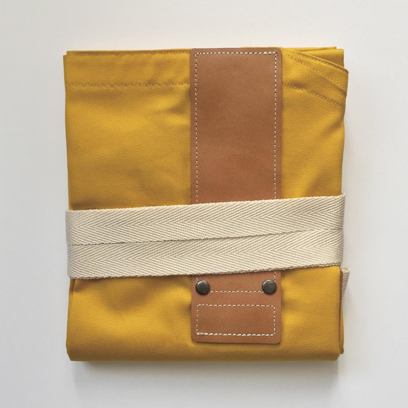 MUSTARDxBROWN HASHIRA-JYU mitten pocket set