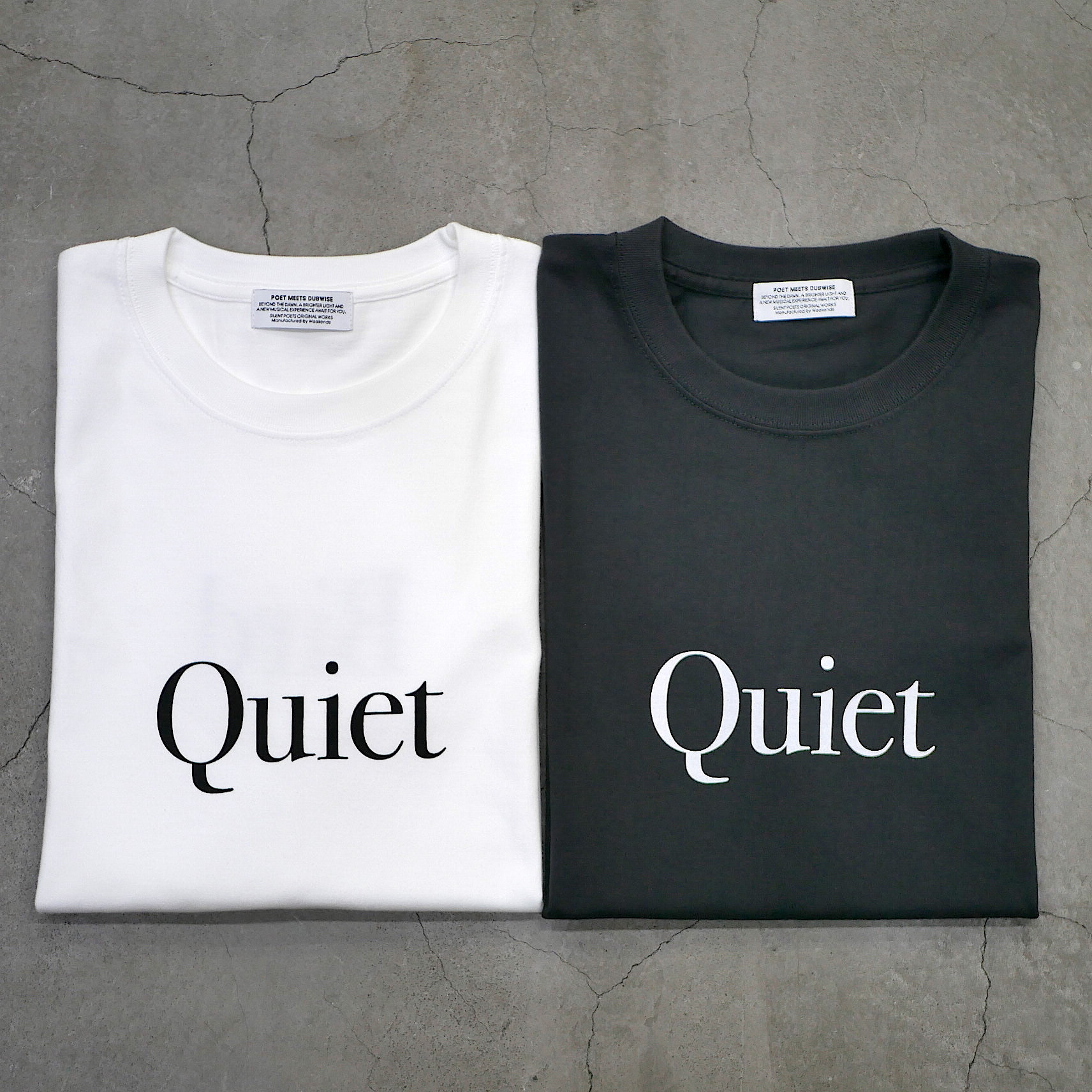 SILENT POETS / T-SHIRTS(QUIET BIRD)