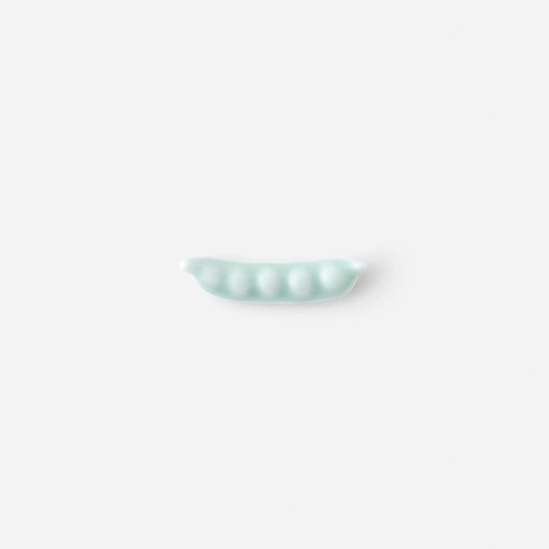 青白磁 豆箸置