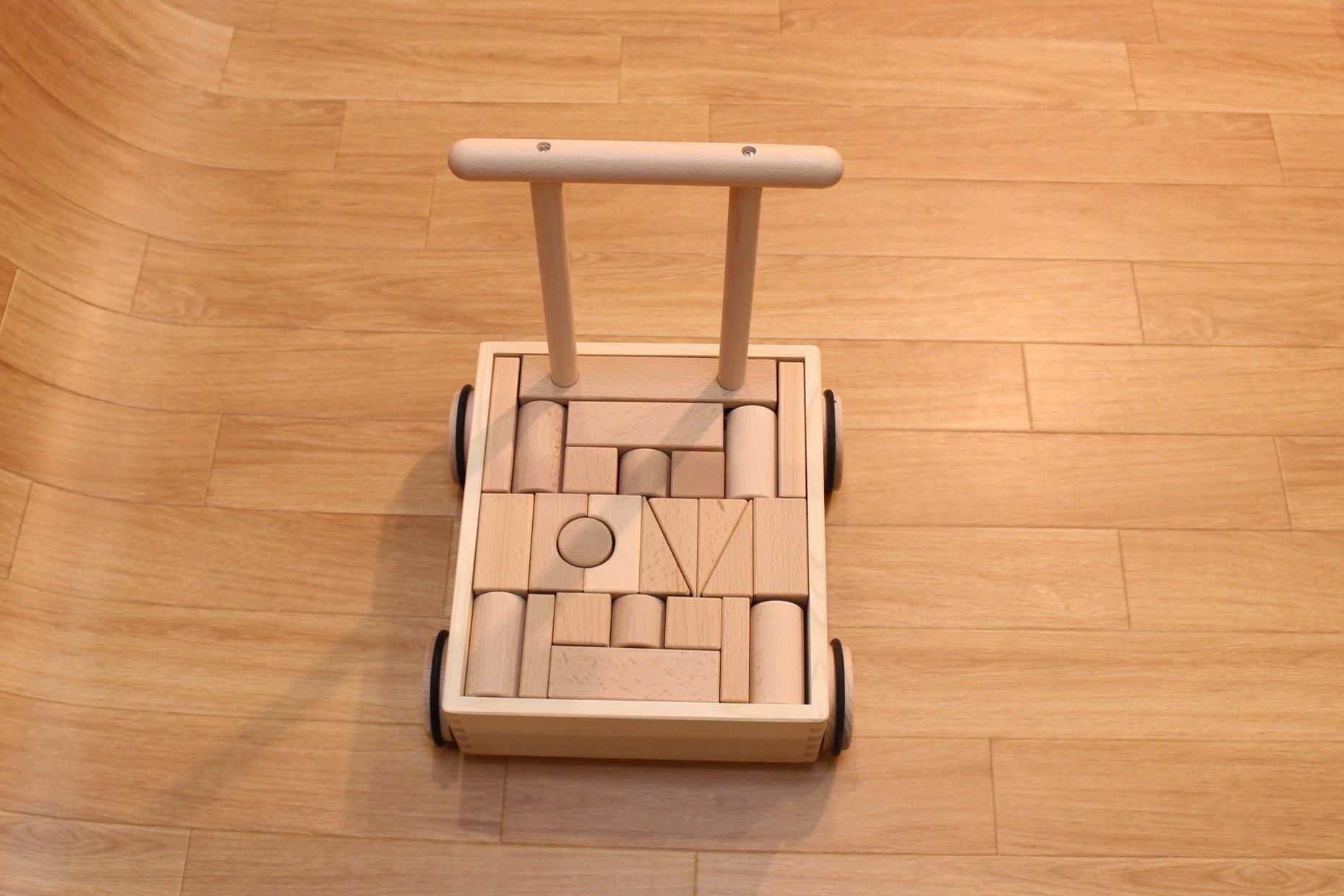 押車積木(無地) - 画像3