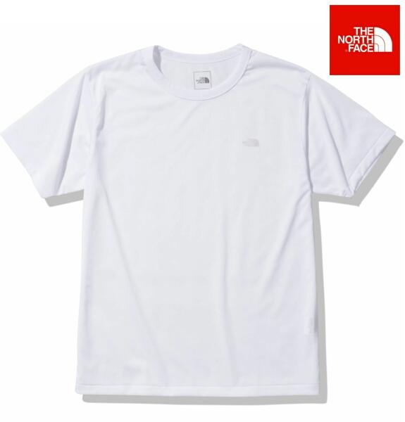 ノースフェイス 半袖 Tシャツ メンズ THE NORTH FACE ショートスリーブスモールハーフドームロゴティー NT32015 ホワイト