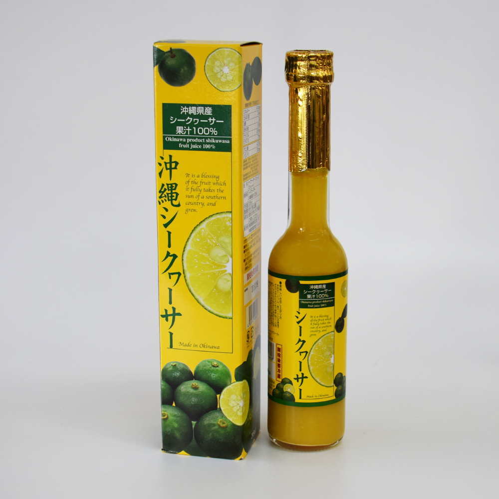 【南都物産】 沖縄県産シークヮーサー果汁100%(205ml)