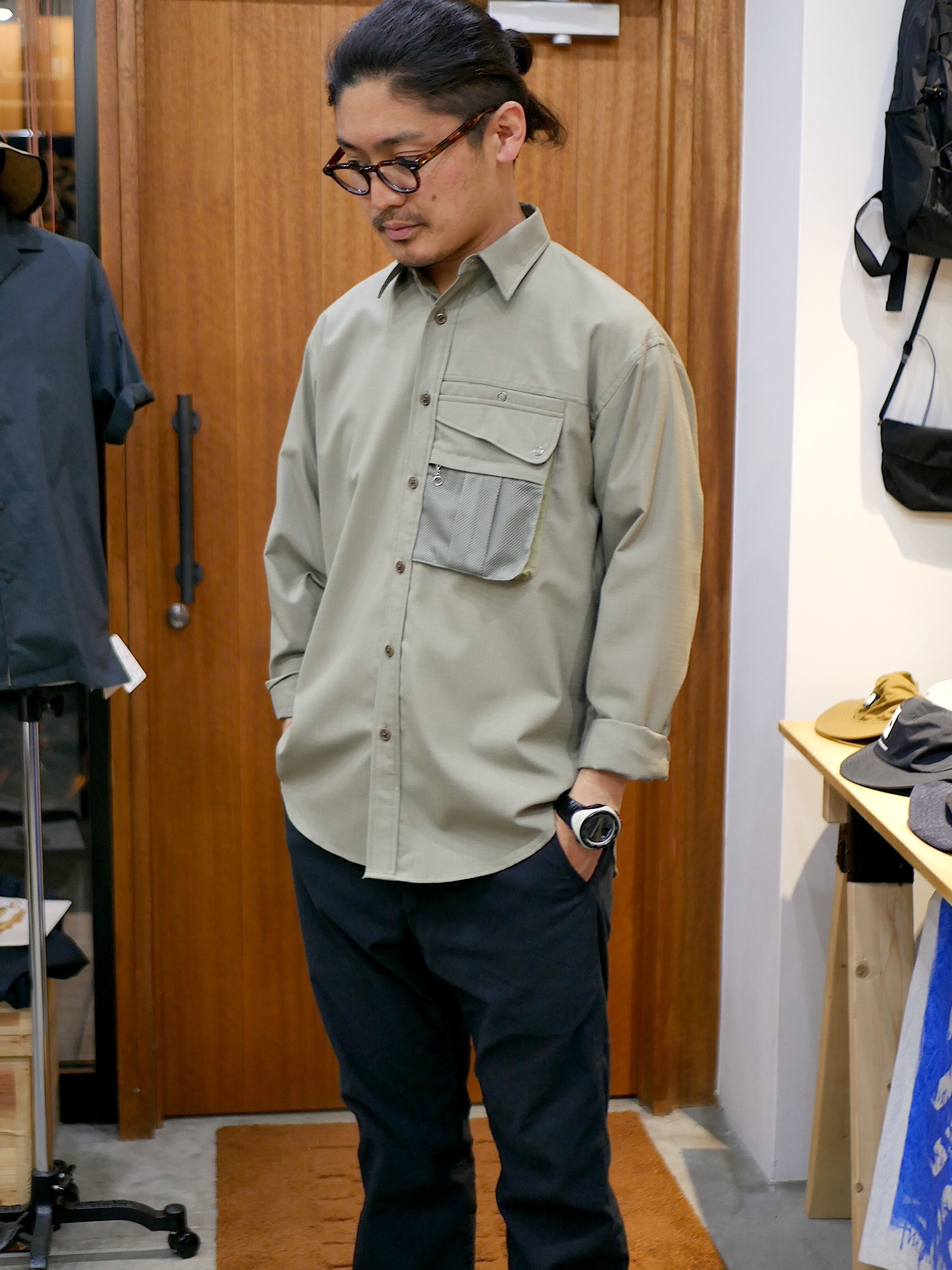 BROWN by 2-tacs / OUTER SHIRTS