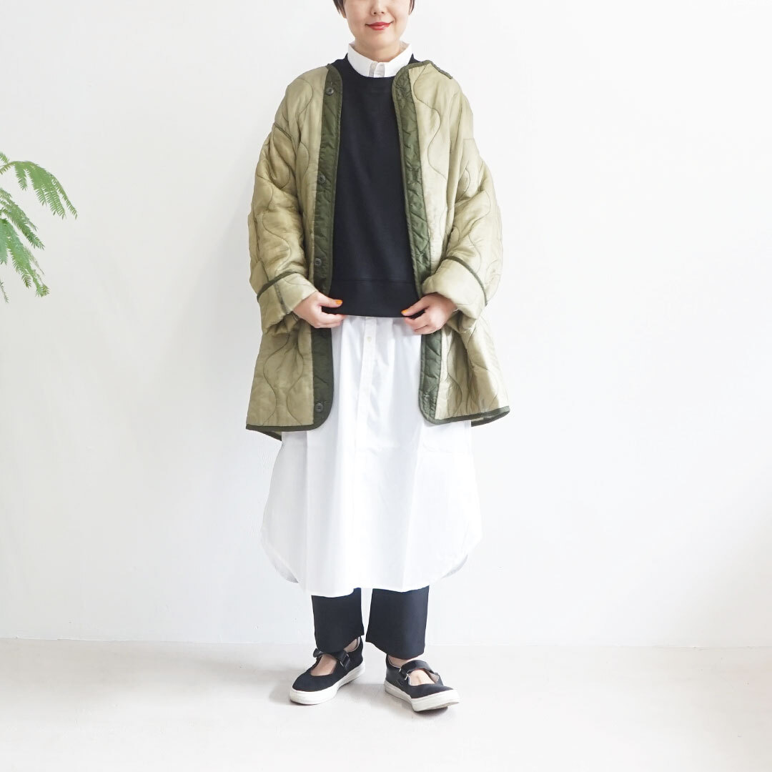 ichi イチ クレンゼブロードシャツワンピース (品番200518)