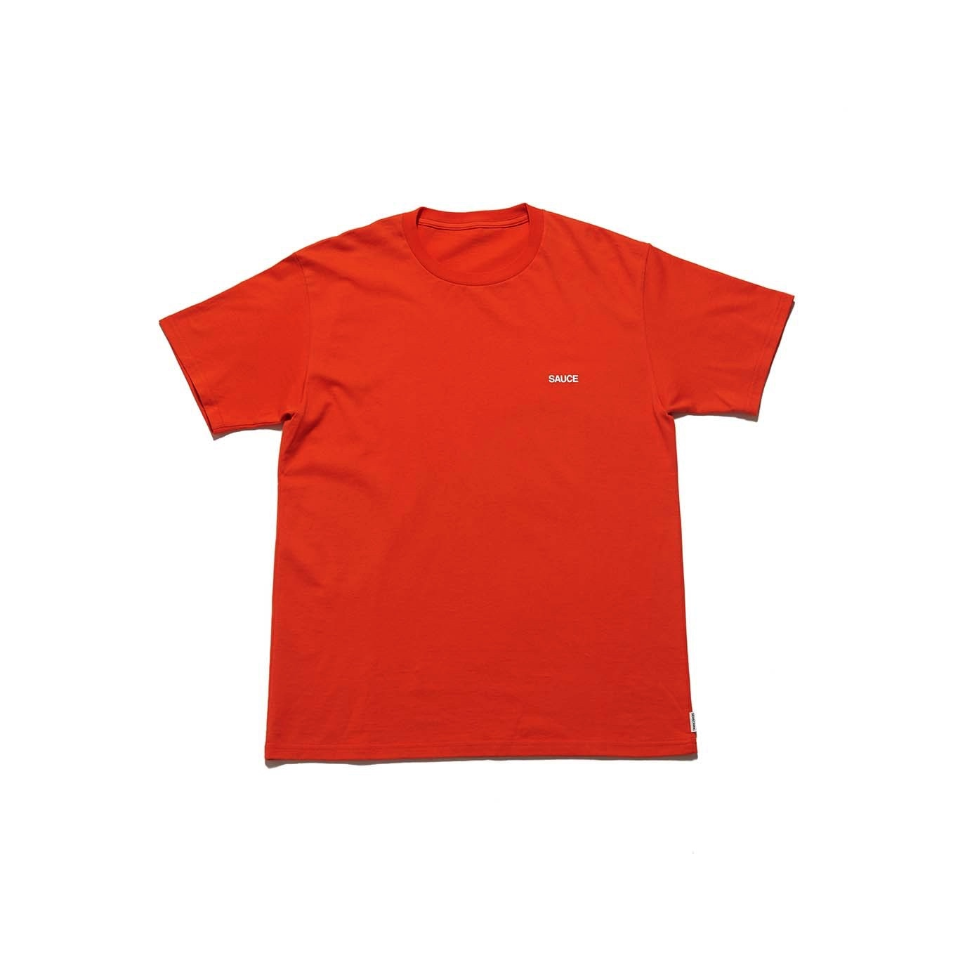 "SPICE COLOR TEE ""SAUCE"" -  ORANGE"