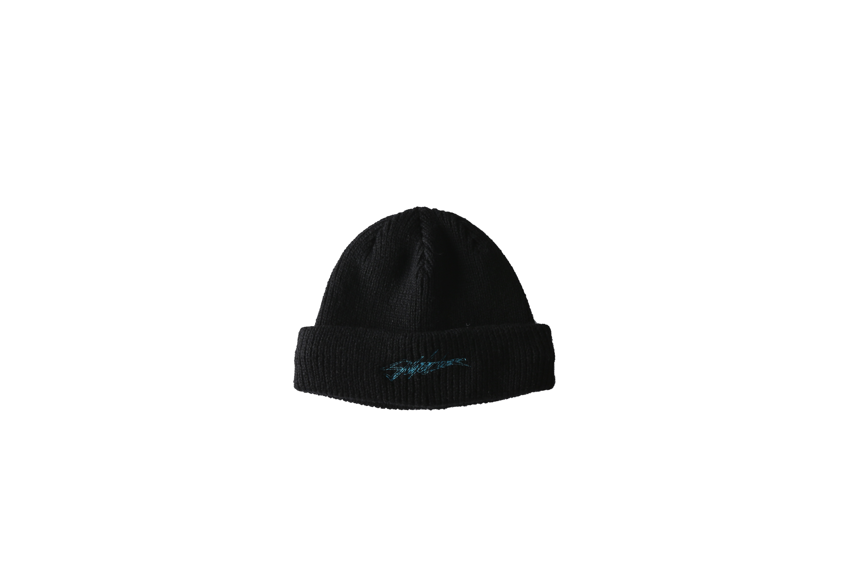 SNATCHER knit cap / BLACK - 画像1