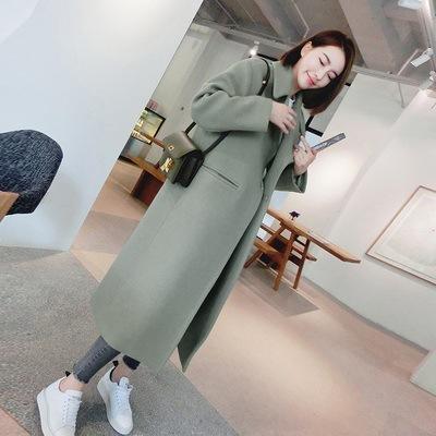 【outer】高級感無地ファッションロング人気コート24787015