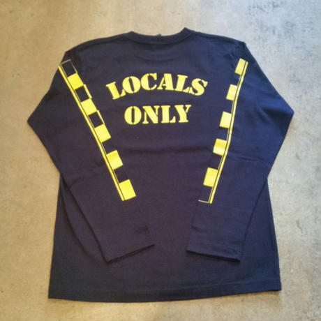 LOCALS ONLY CHECKER L/S TEE