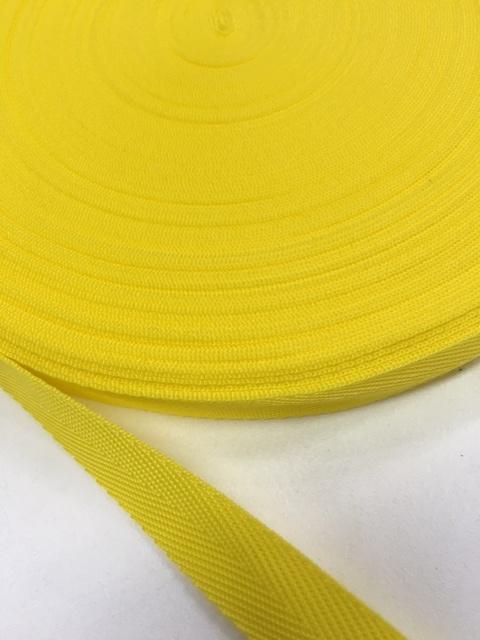 PP 杉綾織(綾テープ) ビタミンカラー 0.8㎜厚 20㎜幅  1巻50m