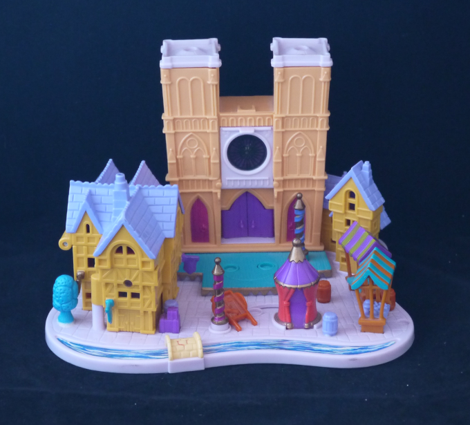ポーリーポケット ディズニー ノートルダムの鐘 箱付きほぼ完品