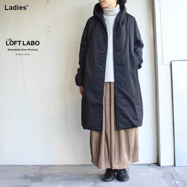 THE LOFTLABO 【18-19秋冬】フードロングダウンコート WIIS TL15FJK04 (BLACK)