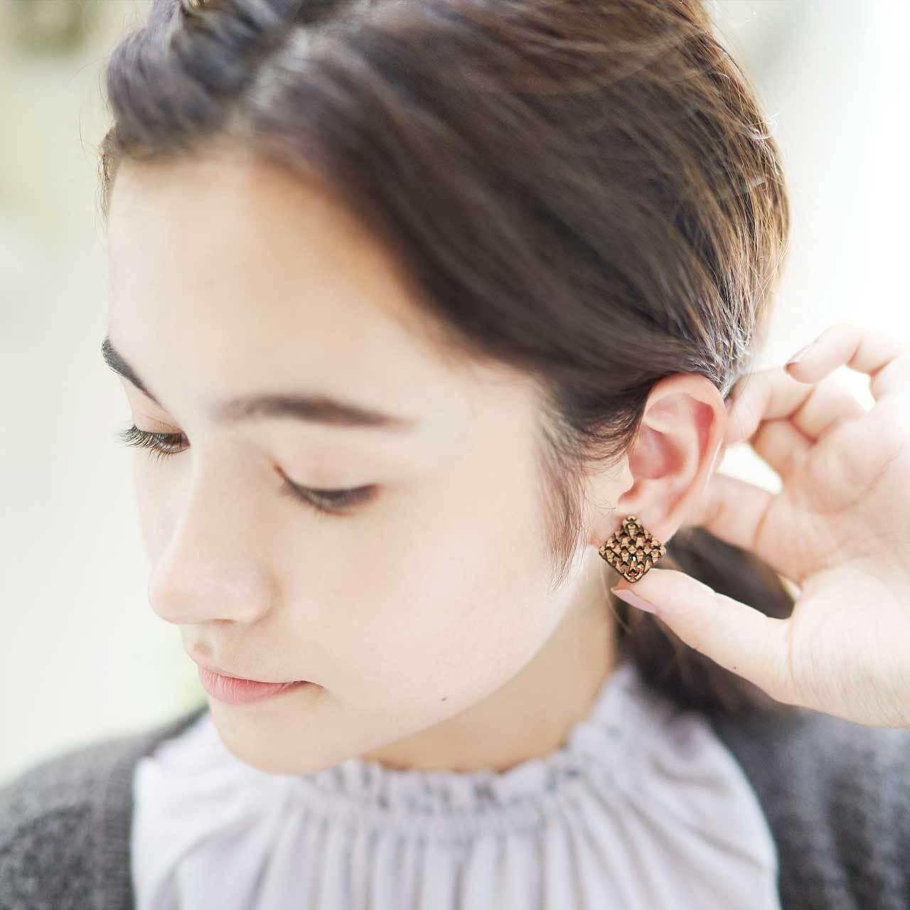 mesh / メッシュ(Pierced Earring)
