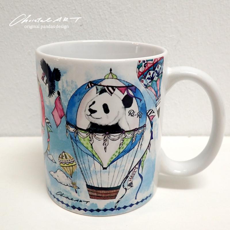 ◆受注生産◆3歳バースデー柄マグカップ◆