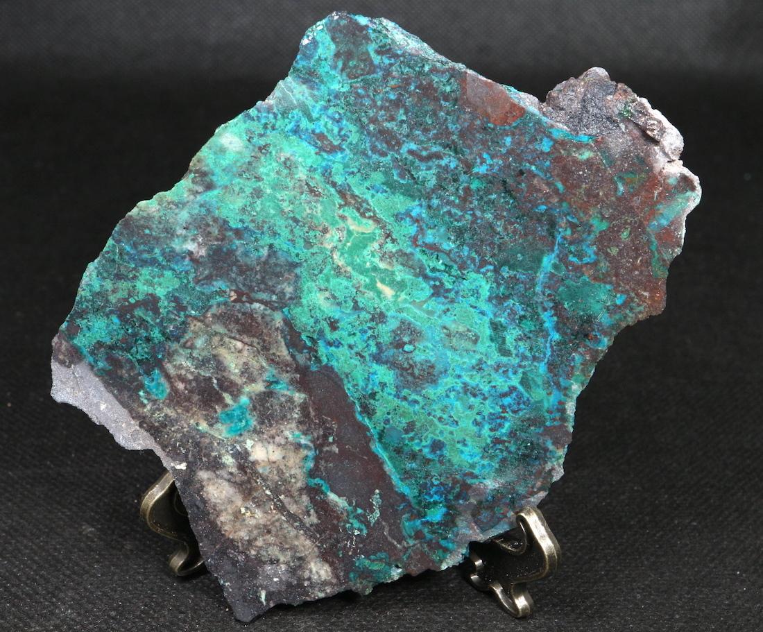 クリソコラ 珪孔雀石 アリゾナ州  126,7g CHS018  鉱物 天然石 原石 パワーストーン