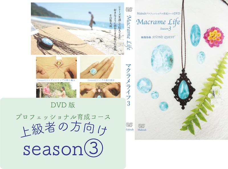 【上級】Macrame Lifeシーズン3(DVD2枚組み)