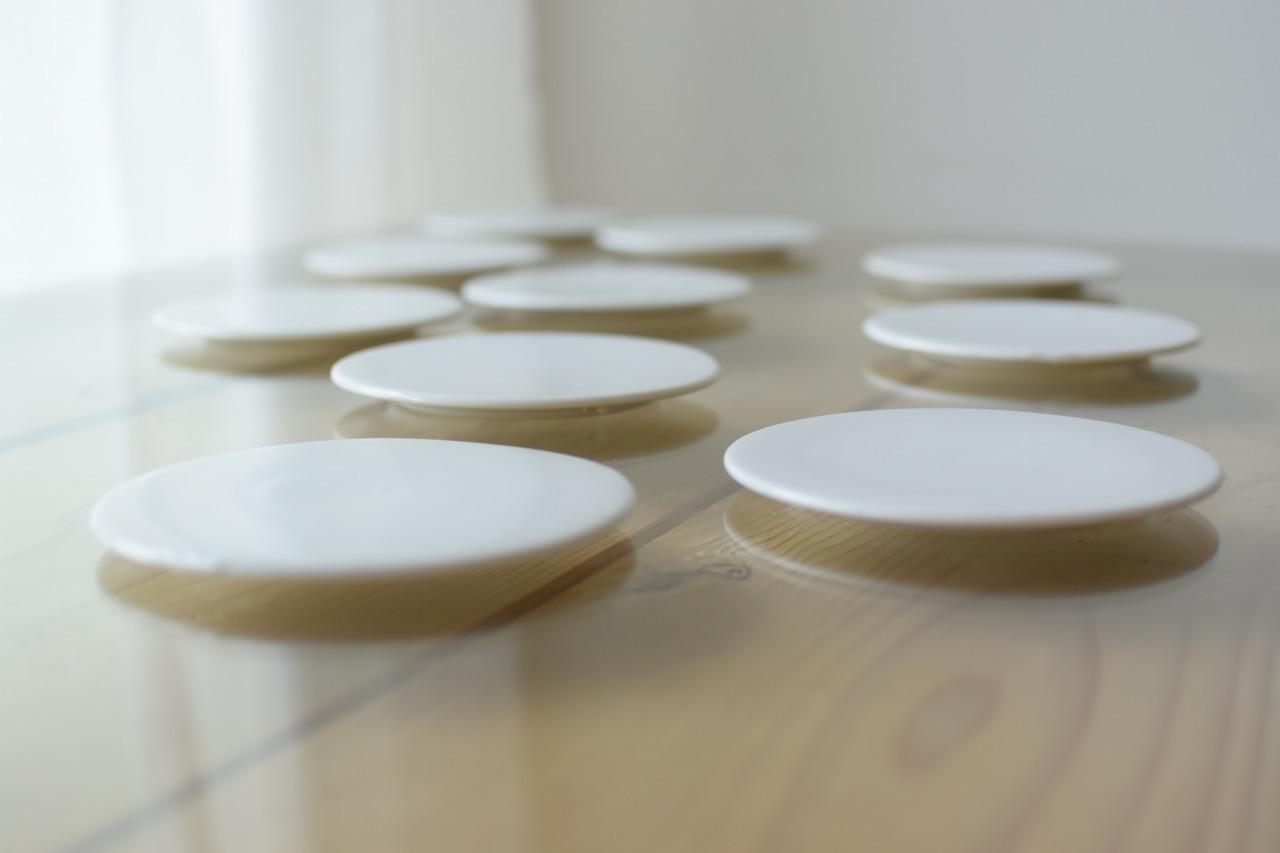 白磁のプレート