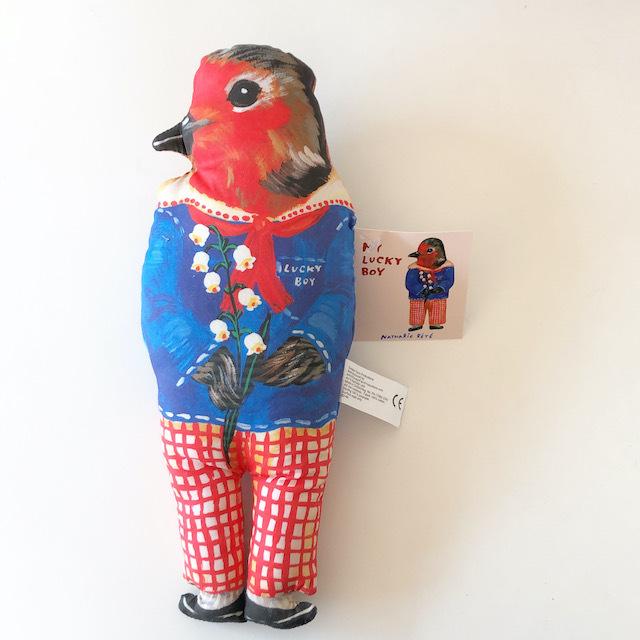 "Nathalie Lete ""My Lucky Boy Bird Doll"" ナタリーレテ 鳥 ラッキーボーイバード 人形 ドール"
