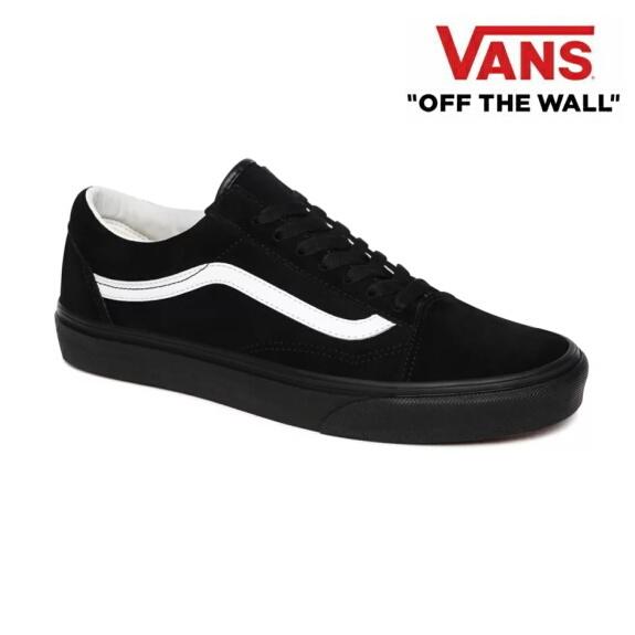 VANS バンズ ヴァンズ オールドスクール スニーカー メンズ Old Skool (Pig Suede) BLACK/BLACK