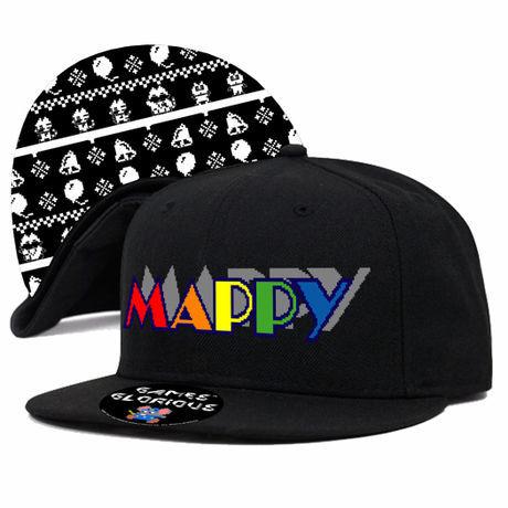 マッピー (MAPPY)  スナップバックキャップ / GAMES GLORIOUS