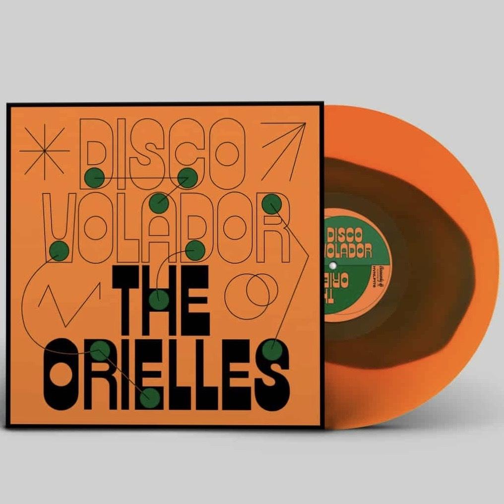 The Orielles - Disco Volador (LTD. Transparent Orange/Green Blob LP)