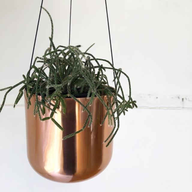 Raakel Hanging pot / Copper ハンギングプランター・鉢カバー