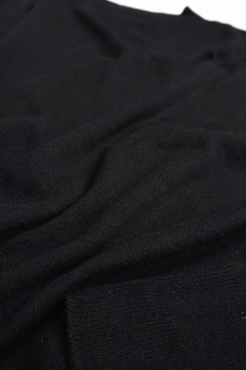 Silk Cashmere Mock Neck P/O