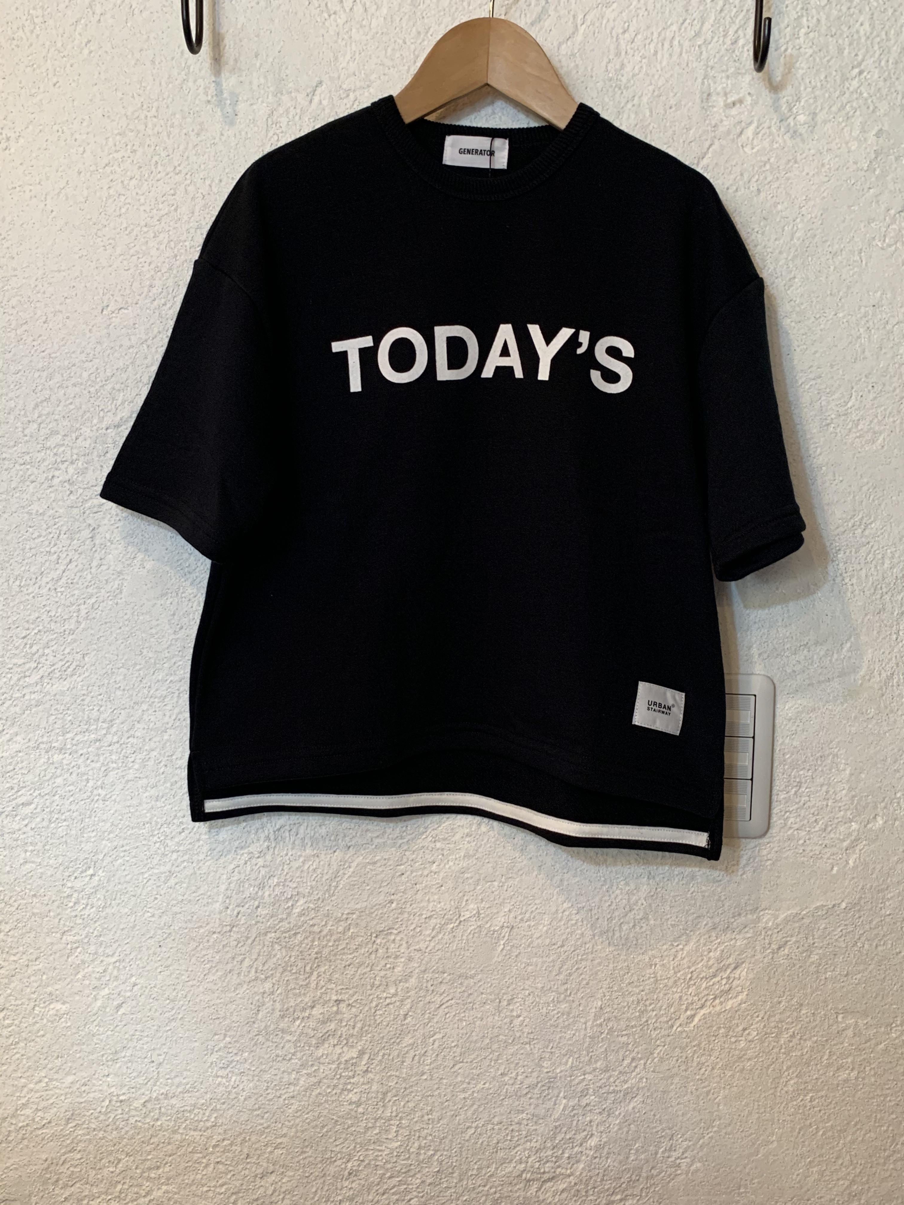 KIDS:GENERATOR TODAY'Sプルオーバー ブラック