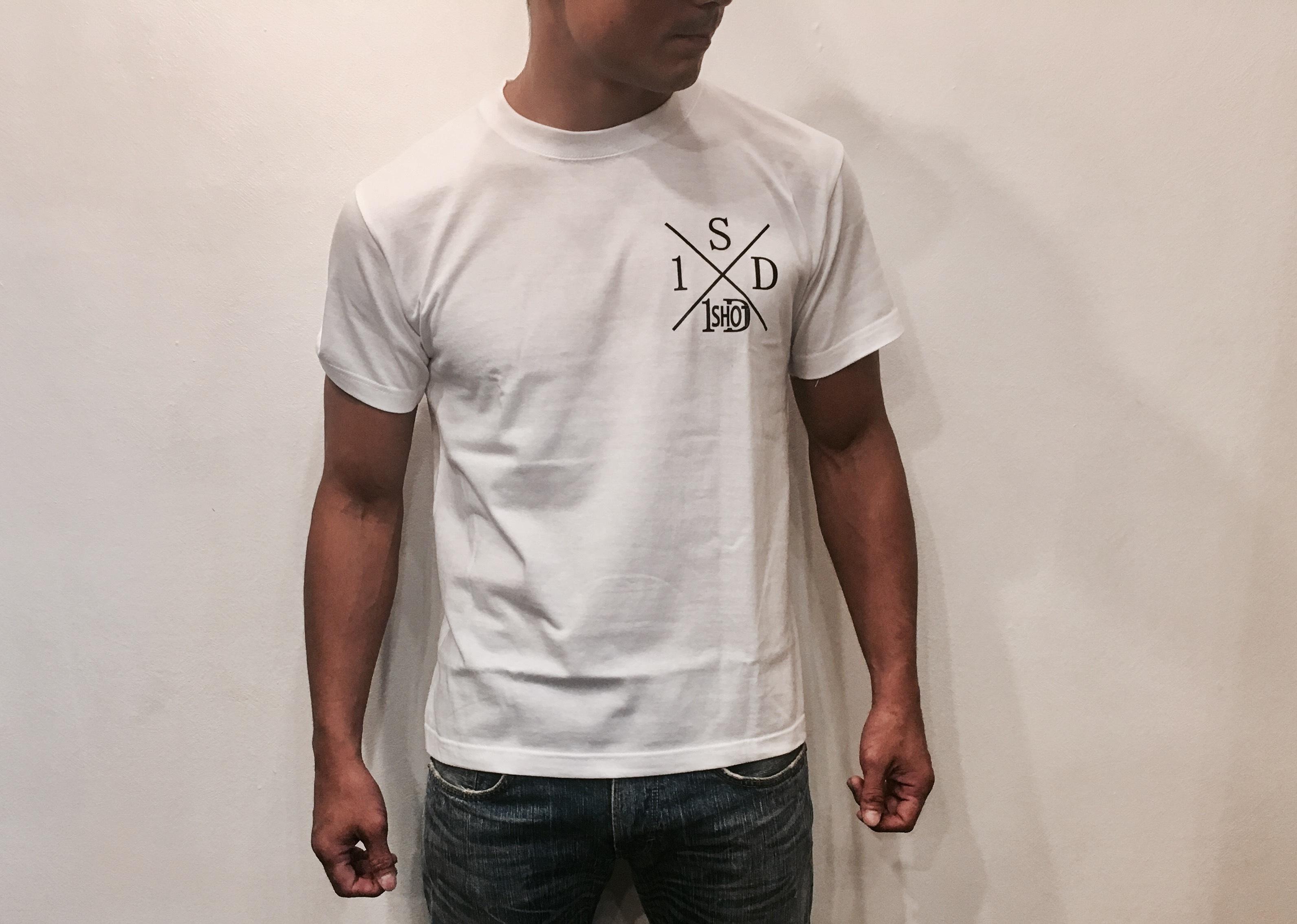 ONESHOTDOWN Xデザイン Tシャツ - 画像3