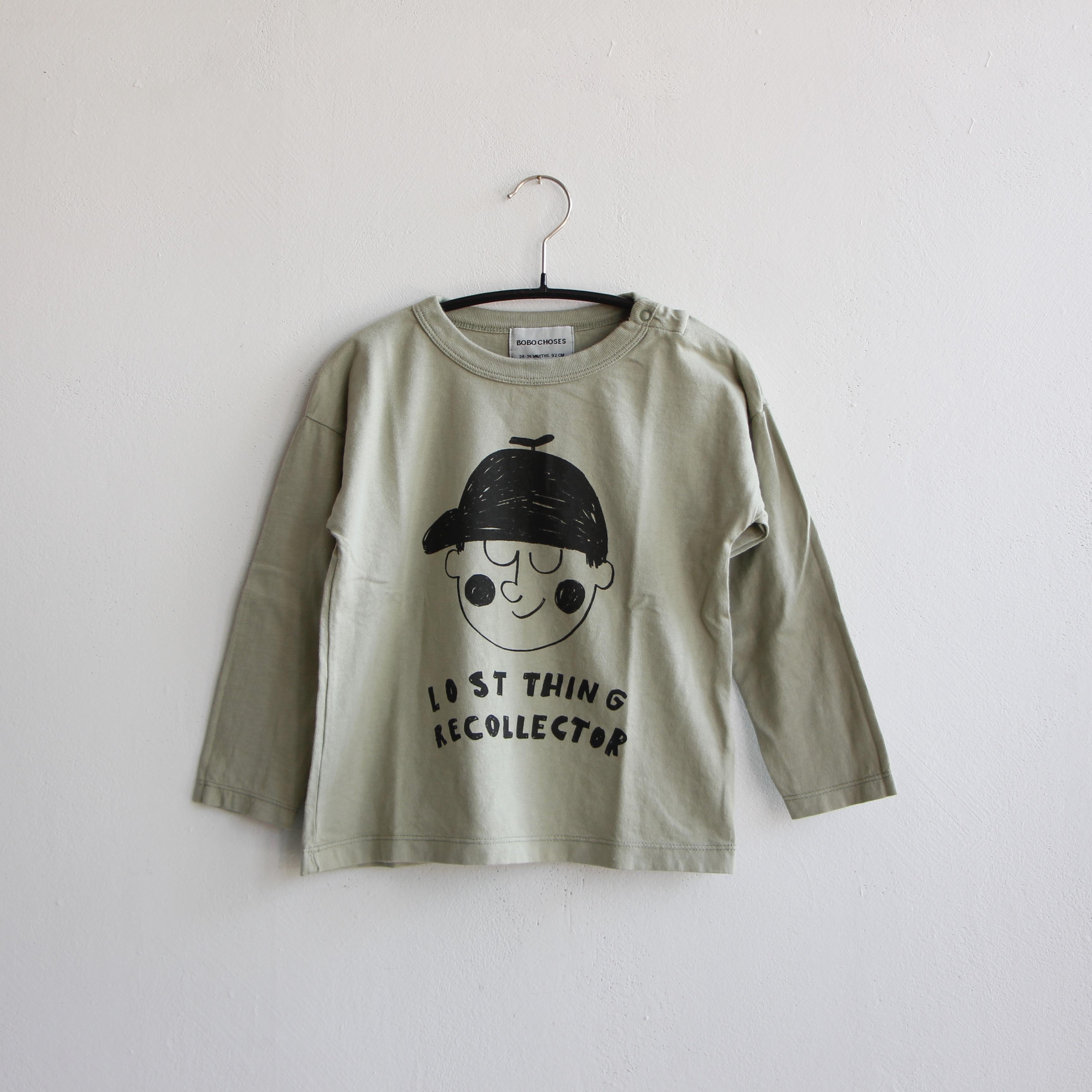 《BOBO CHOSES 2020AW》Boy long sleeve T-shirt / 6-36M
