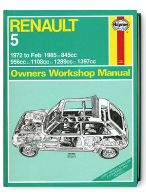 ルノー 5・1972-1985・オーナーズ・ワークショップ・マニュアル