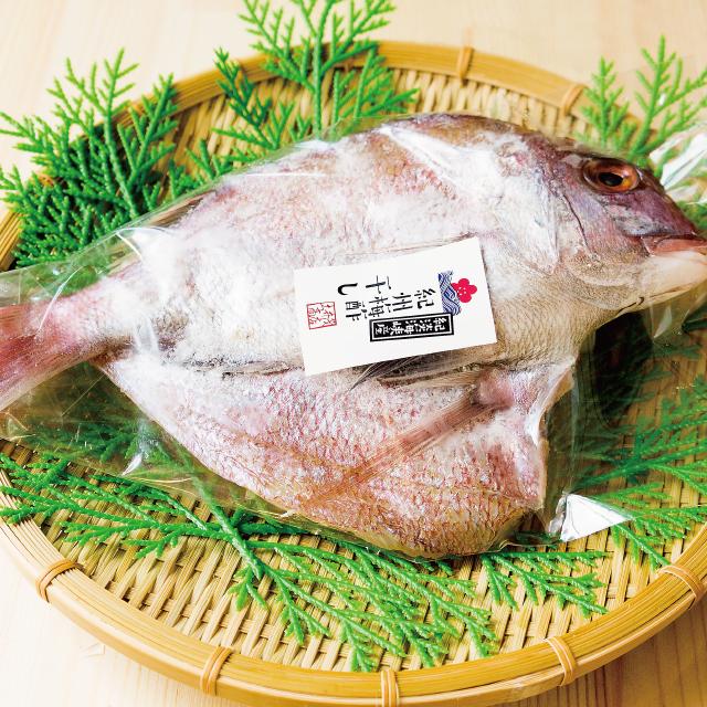 鯛(サイズ:中)の紀州梅酢干し 1枚入り