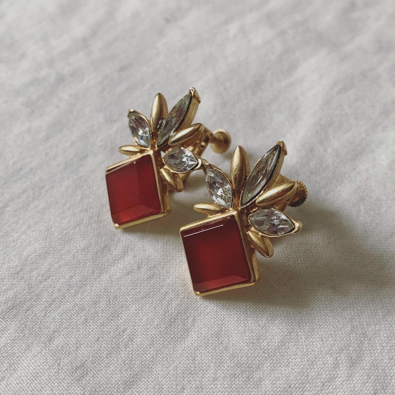 vintage FOSSATO earring