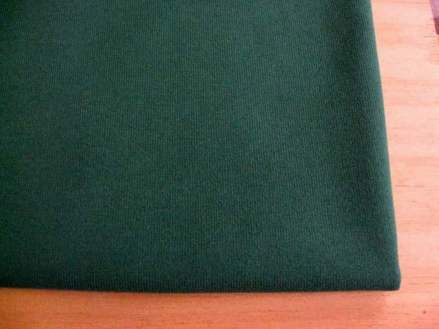J&B定番 綿スムースニット ダークグリーン  NTM-2562
