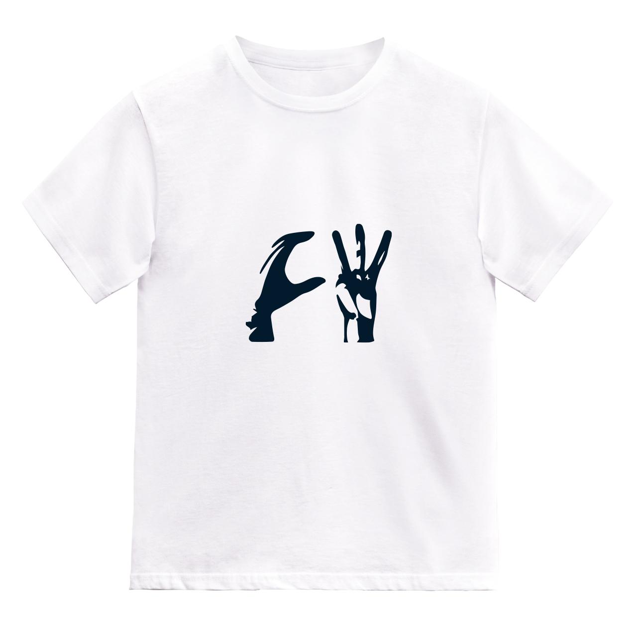 CW ハンドサイン Tシャツ