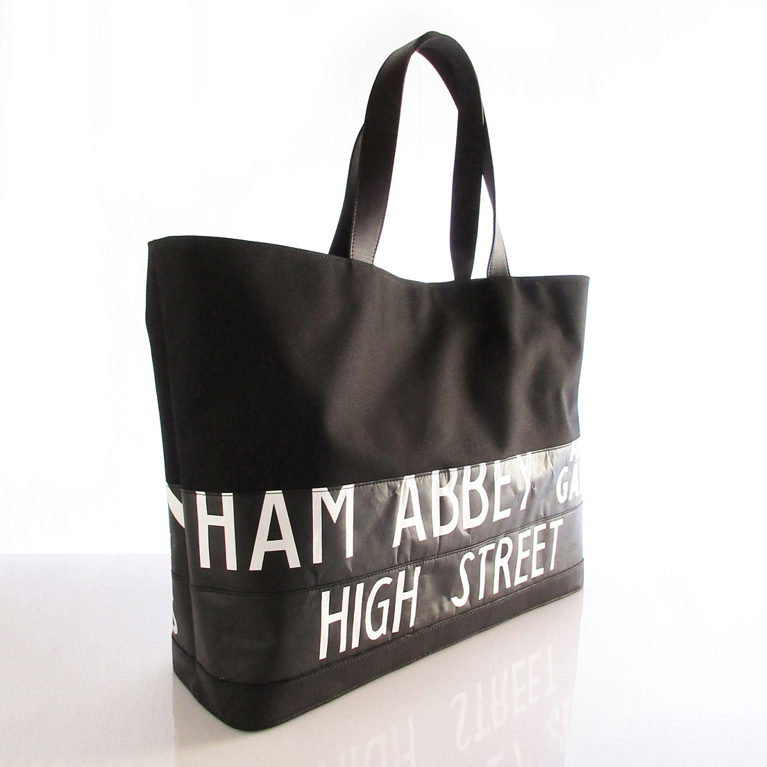 Tote Bag (L) / Black  TLB-0012