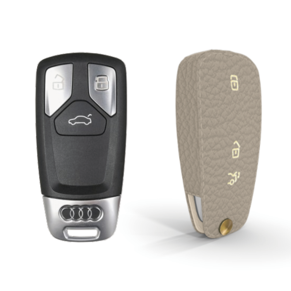 Audi 専用 TypeD Car Key Case Shrink Leather Case