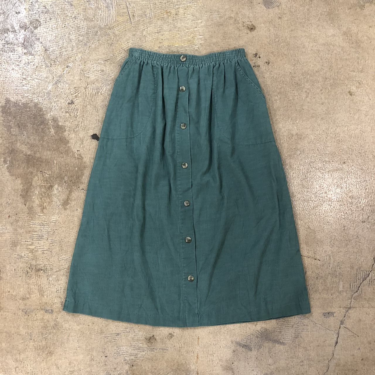 Cricket Lane Front Button Cord Skirt ¥5,500+tax