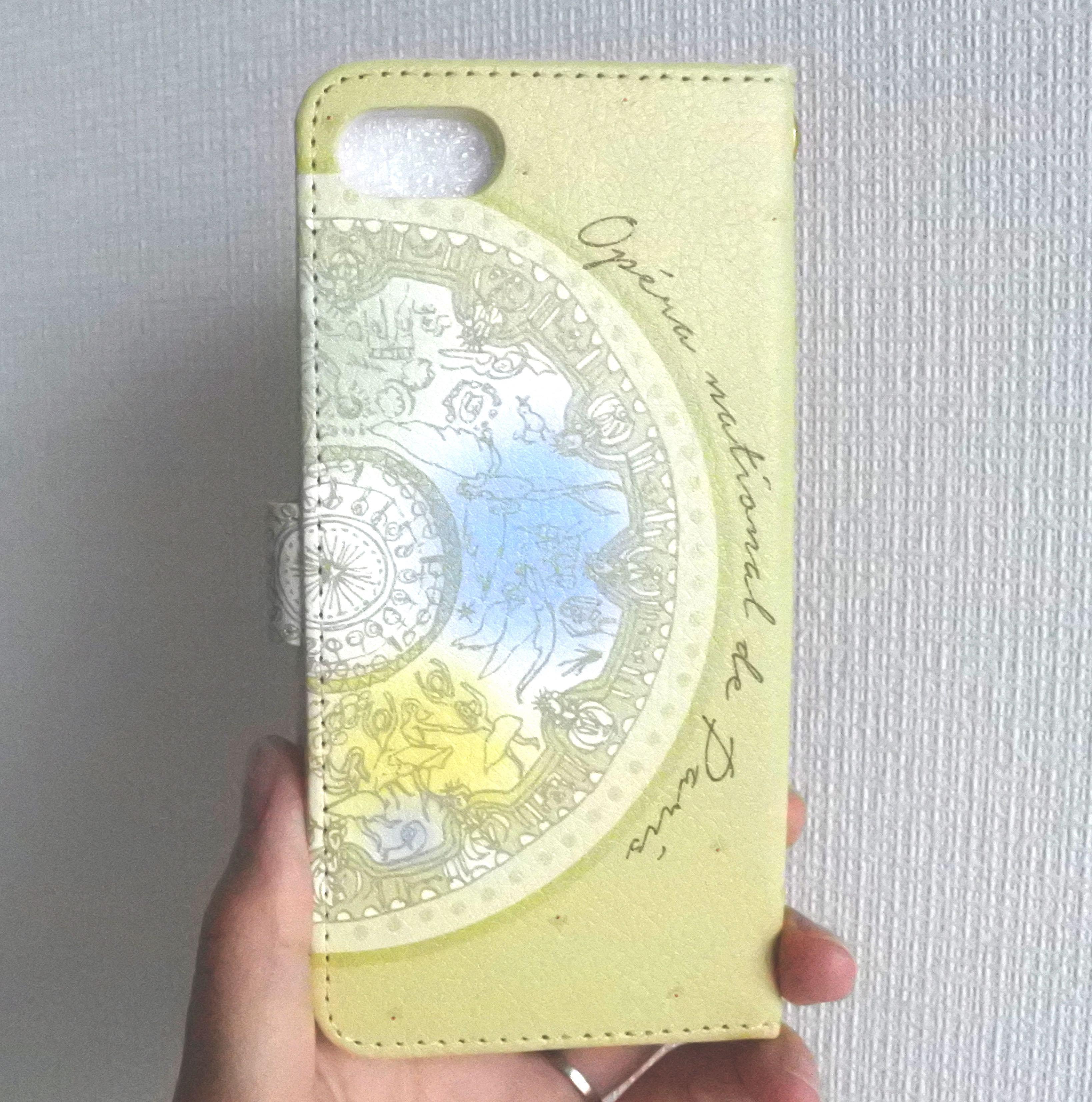 ★パリ・オペラ座コラボ★ (Android)オニールハナ 手帳型スマホケース - 画像2