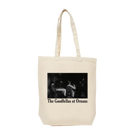 クールベ「グッドフェローズ - オルナンの食休み」 トートバッグ